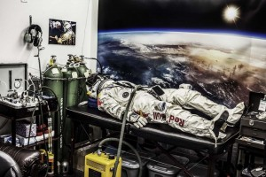 Felix Baumgartner (AUT) - Egress training