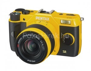 Pentax Q7 sárga