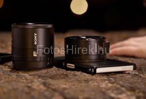 Sony objektív okostelefonra