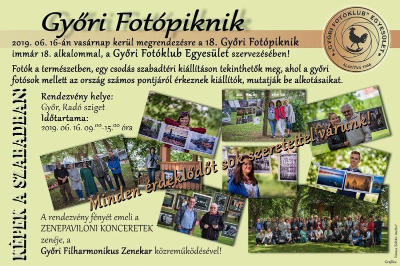 GYŐRI FOTÓPIKNIK-KÉPEK A SZABADBAN! @ Győr, Radó Sziget | Győr | Magyarország