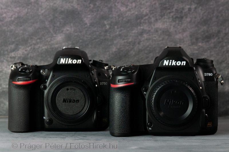 Nikon D750 vs. D780