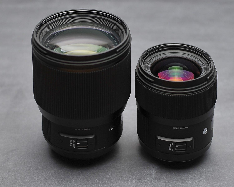 Sigma 35mm f1.4 vs Sigma 85mm f1.4 teszt