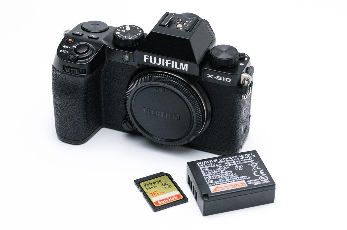 Fujifilm X-S10 teszt