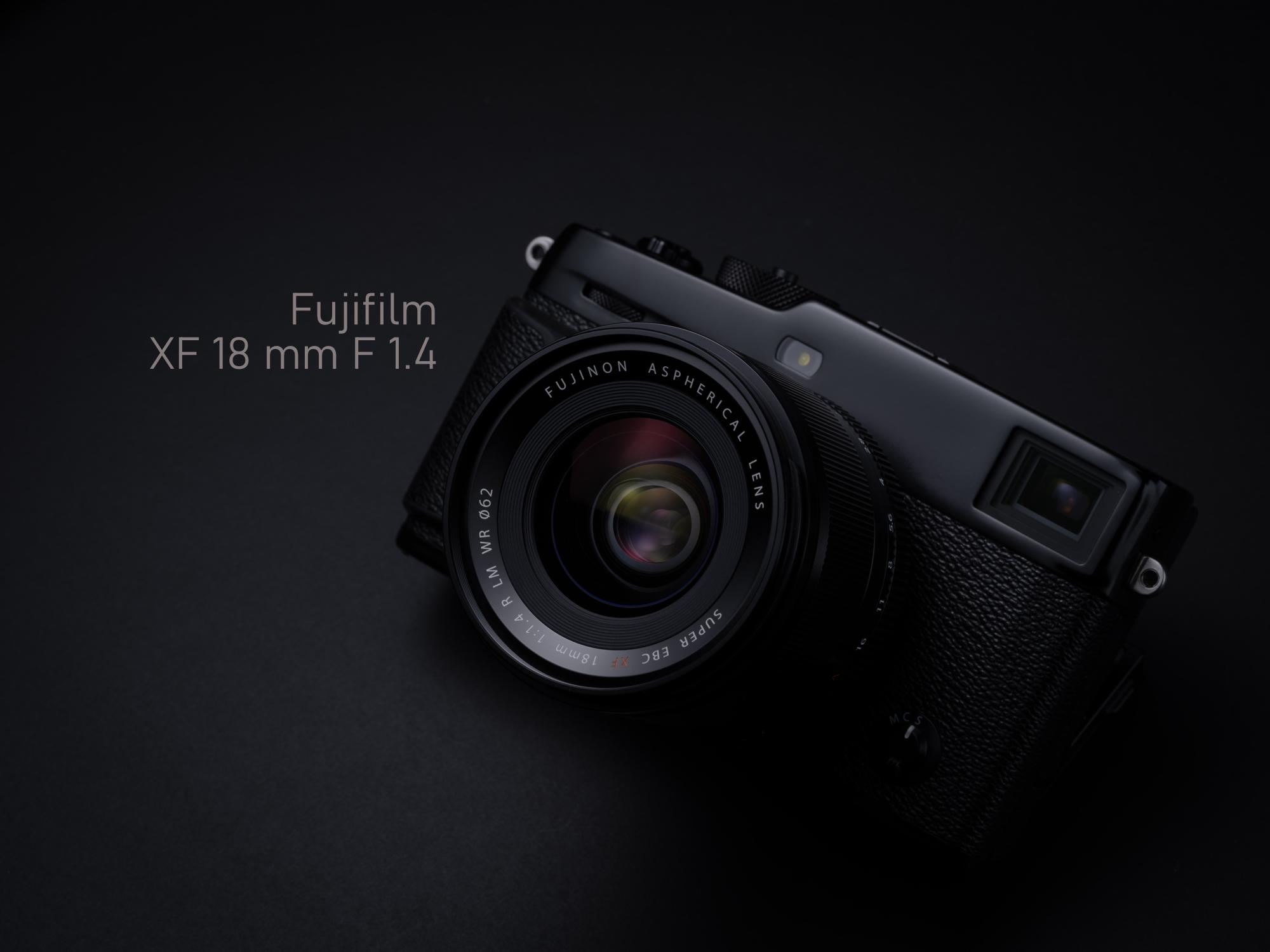 Fuji XF 18 mm F 1.4